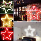 Romantic Five-pointed Star Shape LED Wall Lights Decorative Wall Hanging Lights