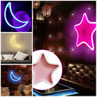LED Moon Star Wall Lights Decorative Hanging Beside Lights for Chilren Bedroom