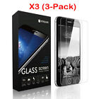 Lot of 10 Premium Real Screen Protector Tempered Glass Film For iPhone 5S 6 6s 7
