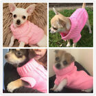 Knit Dog Sweater Clothes Pet Puppy Hoodie for Chihuahua Teacup yorkie Toy Poodle