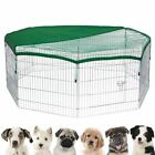"24"" 30"" 36"" Pet Playpen Dog Cage Puppy Exercise Enclosure Rabbit Fence Play Pen"
