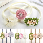3Pcs/Set Cute Baby Newborn Toddler Girl Flower Nylon Hairband Headband Hot Sale