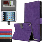 """7.9""""-10.5"""" Inch Stand Retro Folio Wallet Leather Card Holder Case Cover For Ipad"""