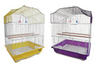 Heritage Lulworth Budgie Finch Medium Bird Cage 36x29x46CM Budgies Canary Home