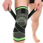 3D Weaving Pressurization Knee Brace Protective Support Cycling Hiking Sport Pad