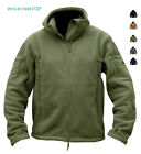 Mens Fleece Jackets Military Outdoor Winter Coats Tactical Army Casual Outwear