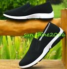 Hot Sell New Kung Fu  Tai chi Wing chun Slippers Trainers sLIP OnShoes Men Black