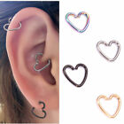 Heart Womens Nose Body Earring Piercings Rings Fashion Multicolor Accessories C8