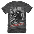 Star Wars Together We Can Rule the Galaxy Mens Graphic T Shirt $22.95 USD