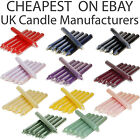 2x Tapered Dinner Candles Bistro Home Wedding Parties Decoration Cheap Price Uk