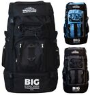 Extra Large XXL 120 L Travel Hiking Camping Festival Luggage Rucksack Backpack