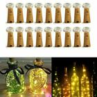 Внешний вид - Wine Bottle Cork Shaped String Light 20LED Night Fairy Light Warm White US