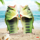 Creative Type Fish Slippers Personality Fish Sandals Bling Fish Beach Flip Flops