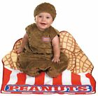 Costumes! Cute & Cuddly My Little Peanut Bunting w Cap and Peanut Box Blanket