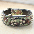 "2"" Leather Dog Collar Spiked Studded Collar for Pitbull Terrier Mastiff Cathro"