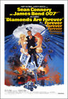 Diamonds Are Forever Movie Poster Print 007 - 1971 - Action - 1 Sheet Artwork $19.95 USD on eBay