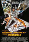 Moonraker Movie Poster Print - 1979 - Action - 1 Sheet Artwork - James Bond 007 £11.67 GBP on eBay