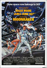 Moonraker Movie Poster Print - 1979 - Action - 1 Sheet Artwork - James Bond 007 $19.95 USD