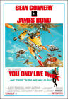 You Only Live Twice Movie Poster Print - 1967 - Action - 1 Sheet Artwork - 007 $17.95 USD