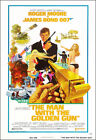 The Man With The Golden Gun Movie Poster Print - 1974 - Action - 1 Sheet Artwork £14.59 GBP on eBay