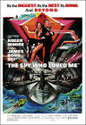 The Spy Who Loved Me Movie Poster Print - 1977 - Action - 1 Sheet Artwork $15.96 USD on eBay