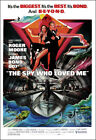 The Spy Who Loved Me Movie Poster Print - 1977 - Action - 1 Sheet Artwork $17.95 USD on eBay