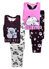 Ladies Pyjamas New Womens Long Sleeved Novelty Animal Fleece Winter PJs UK 8-22