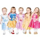 Official Disney Girls Princess Fairytale Dresses Fancy Dress Childrens Costumes
