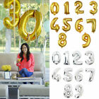 """40"""" Large Foil 0 - 9 Number Party Decoration Baloons Wedding Anniversary Gifts"""