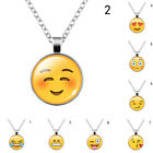 Yoocart Jewelry 10 Style Silver Plated Emoji Pattern Choker Pendant Necklace