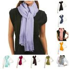 """Layers by Lizden Marvelush Soft 92"""" x 18"""" Fringed Scarf A203327"""