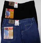 New WRANGLER Relaxed Fit 46 Black Denim Shorts Hits at Knee