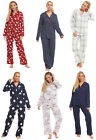 Ladies Womens 100% Brushed Cotton Pyjamas Buttoned Collar Winter Novelty Wincy