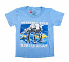 Star Wars Where The Rebels AT-AT Graphic Youth T-Shirt