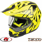 2018 FXR Torque X Core Snowmobile Helmet With Electric Black/Hi-Vis LG XL