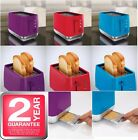 MORPHY RICHARDS 2 TWO SLICE TOASTER CHROMA BREAD TOAST BREAKFAST KITCHEN 221110