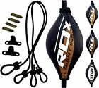 Внешний вид - RDX Punching Double End Speed Bag With Pro Rope Floor To Ceiling Boxing MMA US
