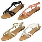 Ladies Spot On Sandals Style - F10240