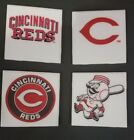 Cincinnati Reds Themed 4x4 Ceramic Coasters Handmade on Ebay