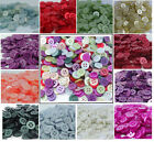Assorted Mixed plastic Small Buttons Arts Crafts Card Making Scrapbooking Sewing