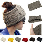 winter fashion for ladies - New Fashion Knit Headband Hairband Head Wrap Crochet Hat Winter Warm For Ladies