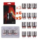 9x Authentic SMOK TFV12 Coil V12-Q4/X4/T8/T12 RBA for V12 Cloud Beast King Tank