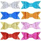 Sweet Girls Hairpin Sequins Hair Clips Lady Hair Accessories Women Bow Pretty
