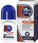 Triple Dry 72hr Protection MEN HEAVY Deodorant Anti-Perspirant Roll-On ACTIVE