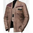 Finn Star Wars Poe Dameron John Boyega Genuine Cow Hide Antique Leather Jacket $99.99 USD on eBay