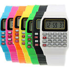 Retro Geek 80s Unusual Calculator Mens Womens Wrist Watch 8 Colours Digital Cool image