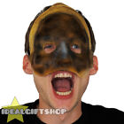 UN-WRAPPED MUMMY HALLOWEEN MASK ADULT HORROR GORY FACE FLESH SCAR FANCY DRESS