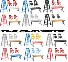 "6"" TLC Tables Ladders & Chairs Playset Choice - Wrestling Figure Accessories WWE"