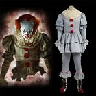 Stephen King's It Pennywise Cosplay Mask Boots Halloween Costume Full Outfit Lot