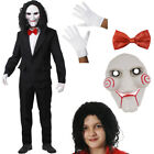 MENS BILLY PUPPET HALLOWEEN COSTUME HORROR SCARY FILM CHARACTER FANCY DRESS